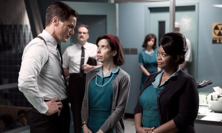 Michael Shannon, Sally Hawkins and Octavia Spencer in The Shape of Water