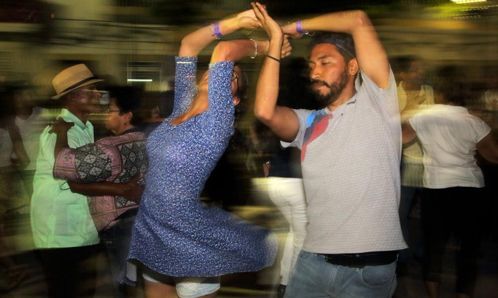 Dancers in Zocalo Square, Veracruz