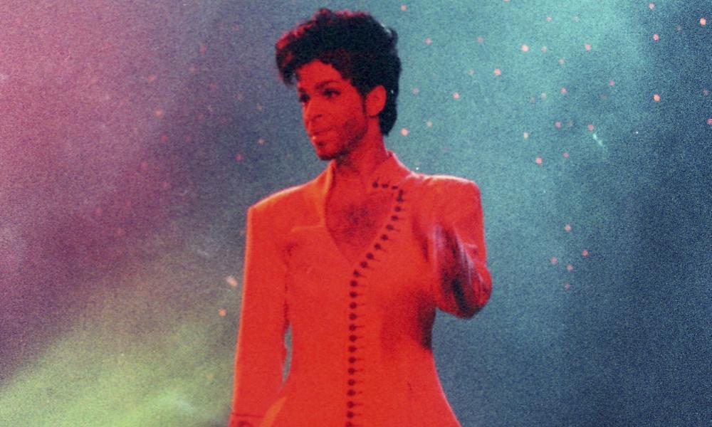 Prince performs during his Diamonds and Pearls Tour at the Earl's Court Arena in 1992