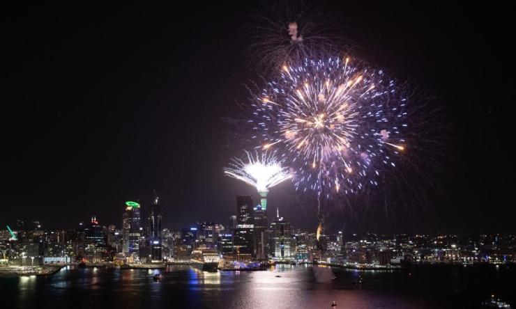Auckland Celebrates New Year's Eve 2019.
