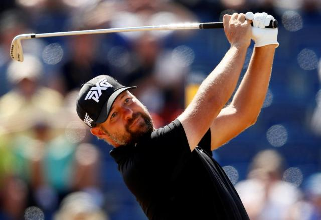 Ryan Moore with an iron under the sun.