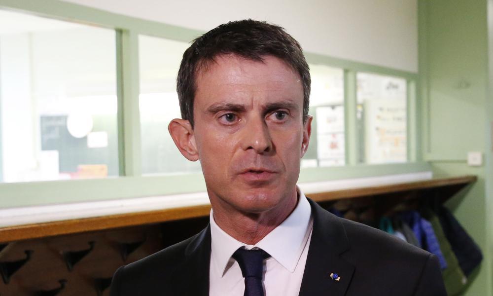 French Prime Minister Manuel Valls.
