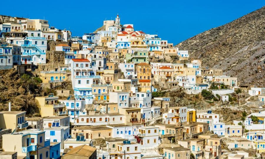 Olympos village, Karpathos.