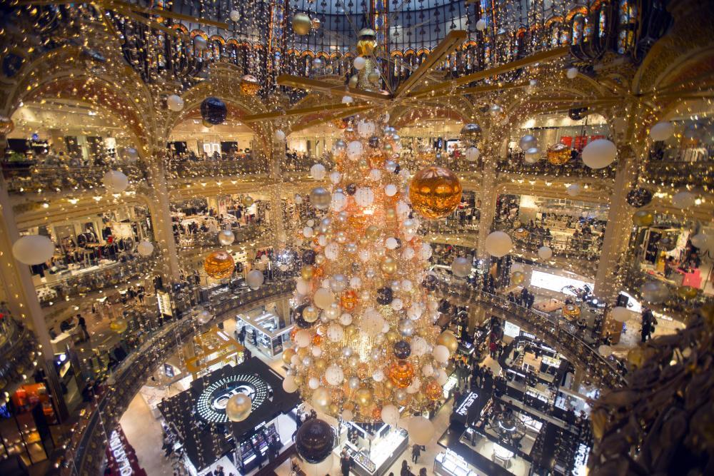A Paris department store.