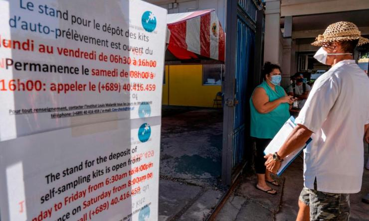 French Polynesia is dealing with a significant outbreak of Covid-19 infections, one of the highest outside mainland Europe.