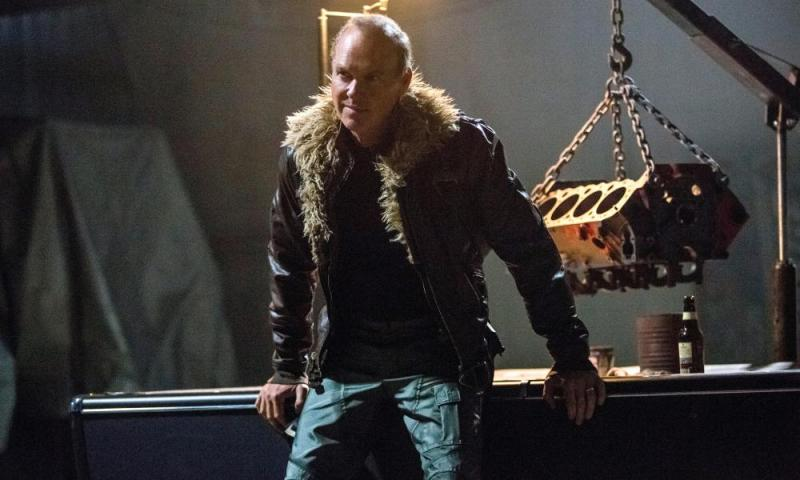 Michael Keaton as Spider-Man's nemesis Vulture.