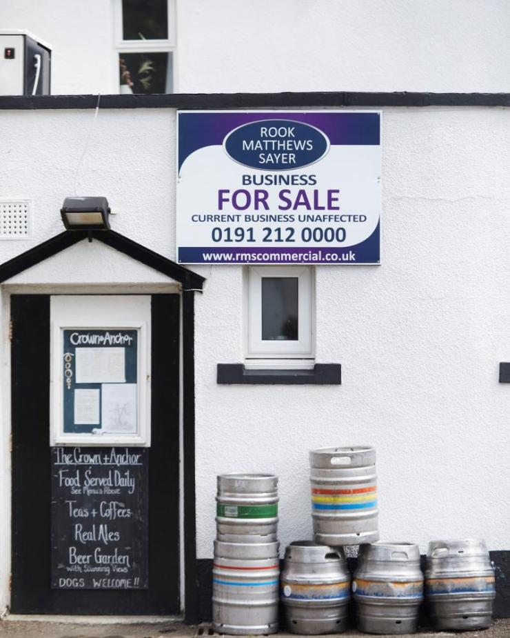 The pub is up for sale with an asking price of £65,000.