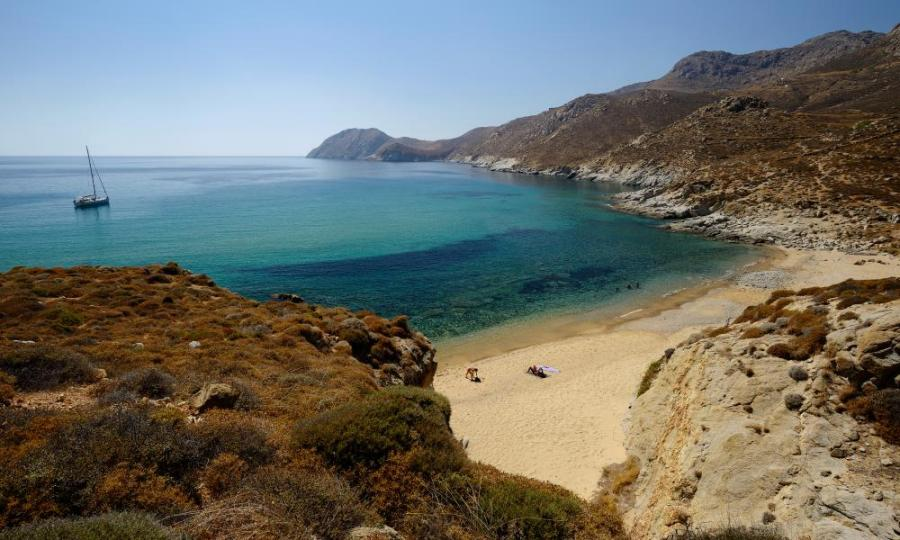 South bay of Serifos Island