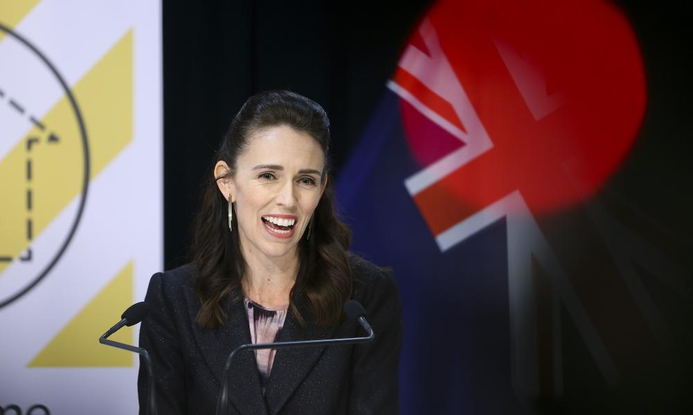 New Zealander Prime Minister Jacinda Ardern speaks to media during a press conference at Parliament on 9 April 2020 in Wellington, New Zealand.