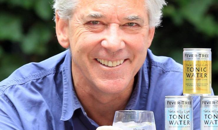 Fever-Tree's deputy chairman Charles Rolls, one of the founders of the mixer maker.