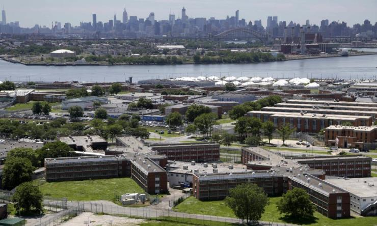 At least 38 people have tested positive for coronavirus in New York City jails, including at the notorious Rikers Island jail complex.