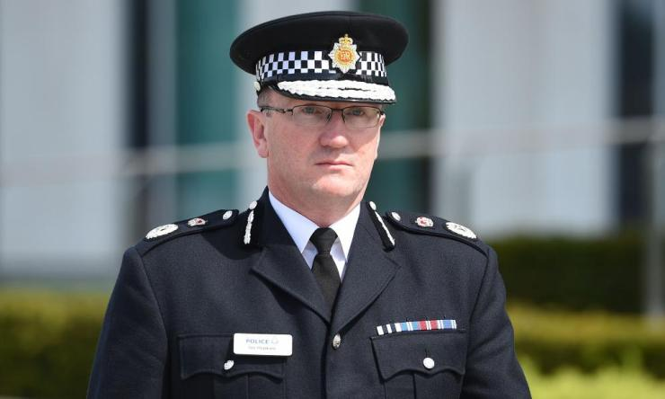 Greater Manchester police chief constable Ian Hopkins.