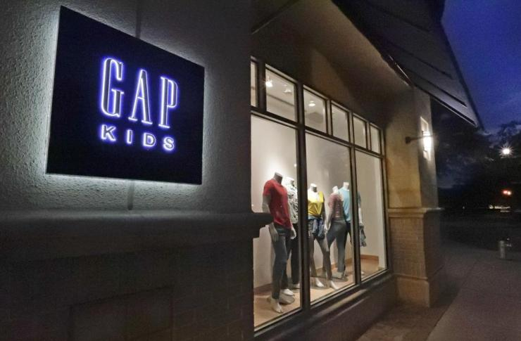 A Gap Kids store in Winter Park, Florida.