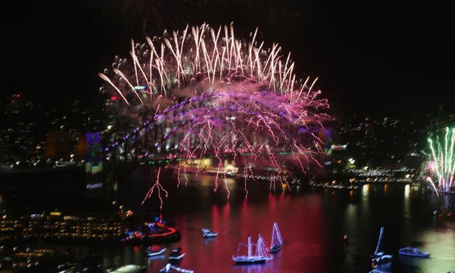 Sydney Celebrates New Year's Eve 2016.