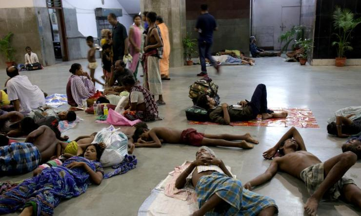 Many homeless families live on Sealdah station from where hundreds of children go missing every year.