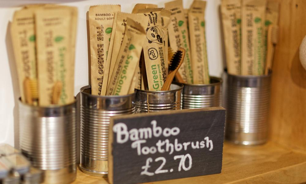 Ethical toothbrushes at Natural Weigh.