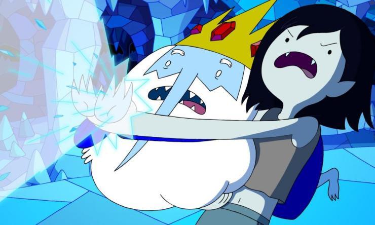 The Ice King … TV's best baddie