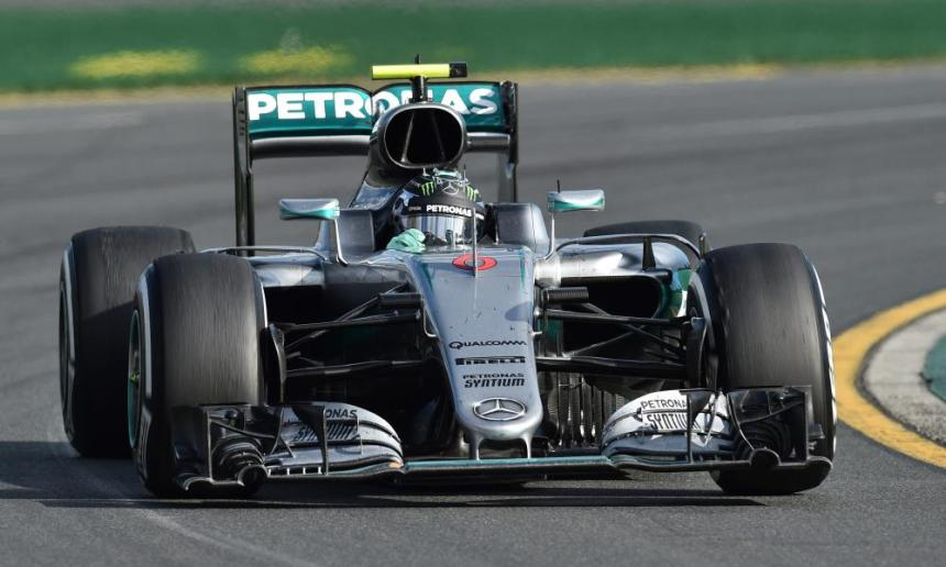Nico Rosberg of Mercedes AMG GP is keeping his cool at Albert Park.
