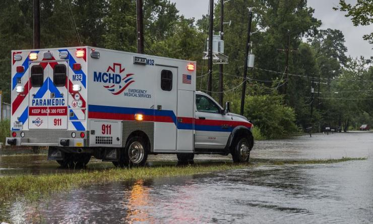 Medical facilities in Texas, and Houston in particular, have been extremely hard hit by a lack of resources and an influx of patients due to the storm.