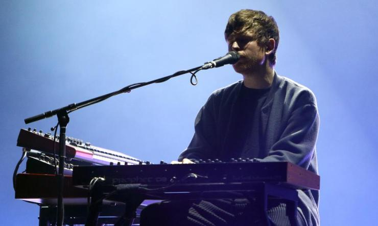 Blake performing at London's Roundhouse last February.