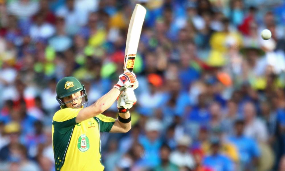 Steve Smith has started brightly for Australia.