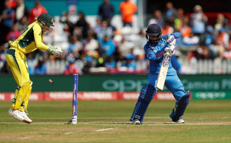 Mithali Raj, bowby Kristen Beams for 36.