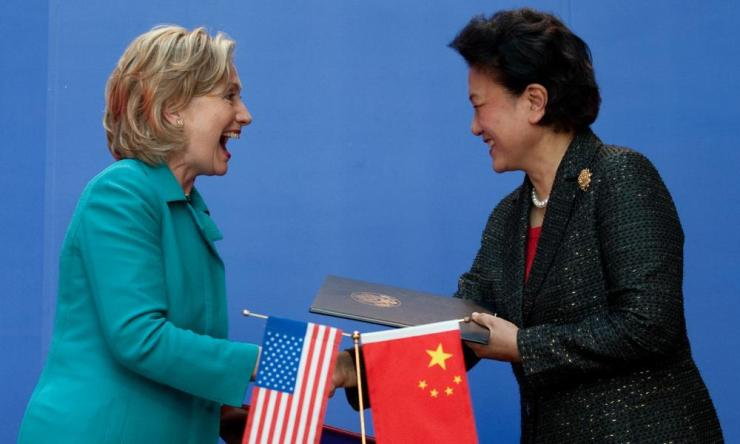 In 2012 there were hopes for Liu Yandong, seen here with Hillary Clinton.
