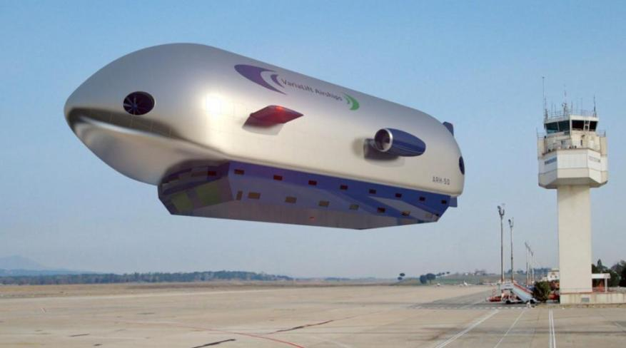 Varialift airships are being developed to provide low-carbon freight transport