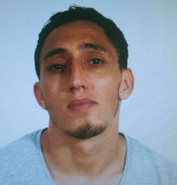 A handout photo made available by Spanish National Police shows Driss Oukabir.