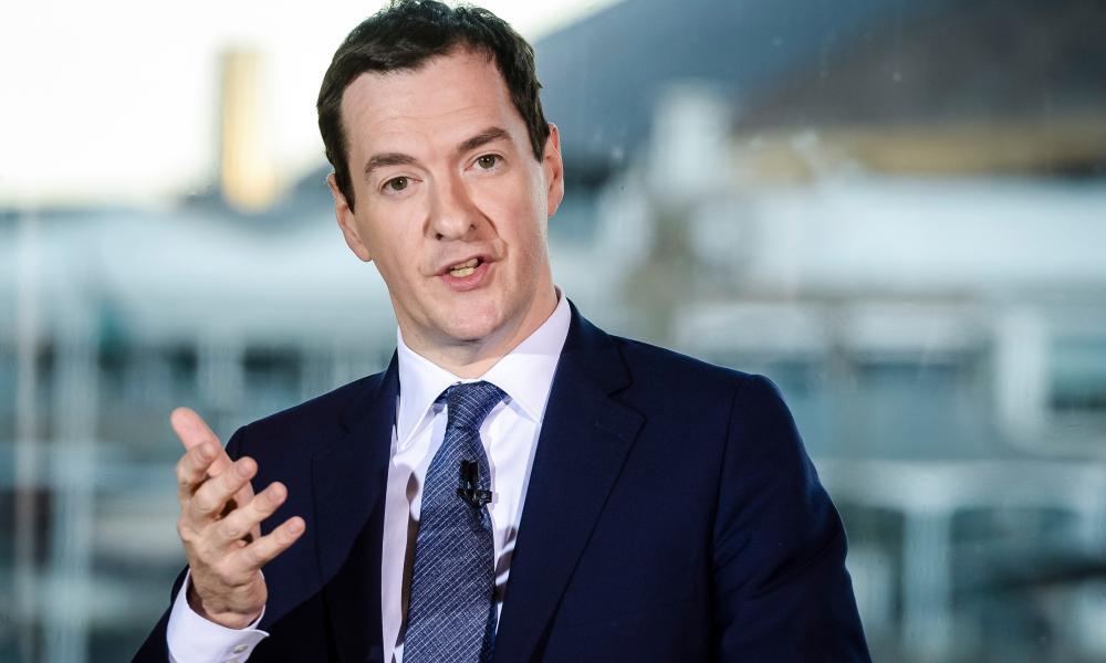 UK chancellor George Osborne.