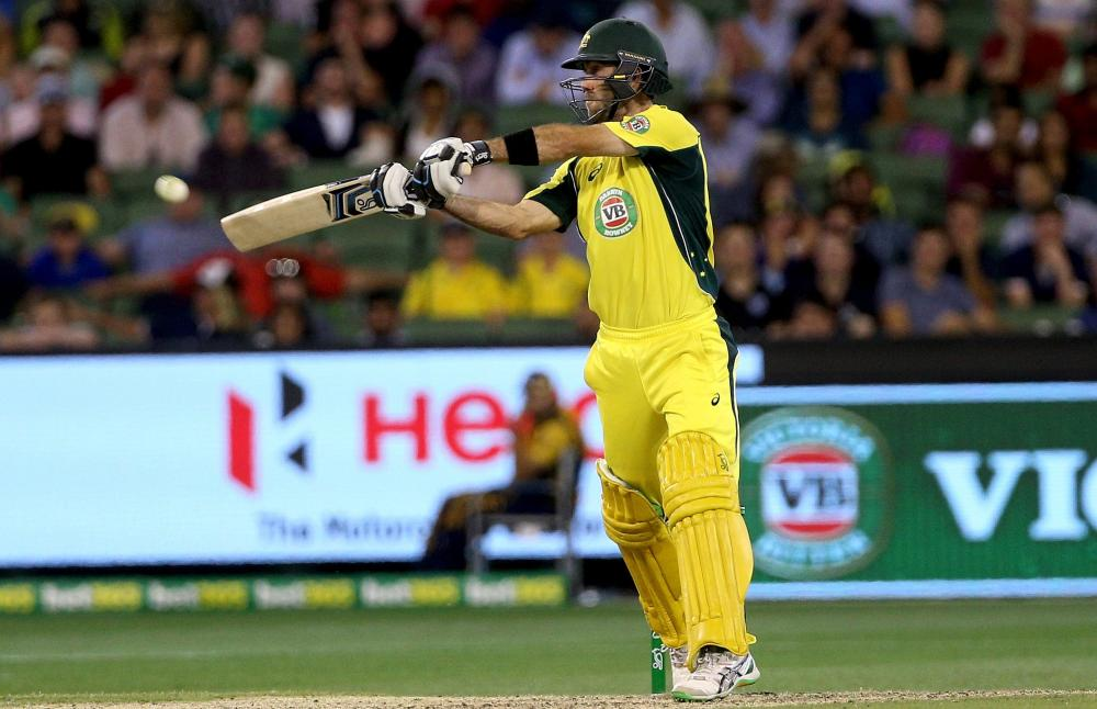 Australia's Glenn Maxwell has been superb in the third one-day international against India.