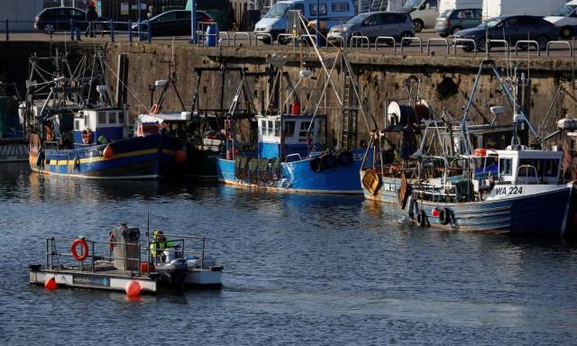 Whitehaven harbour.