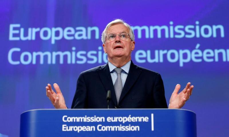 The EU's Michel Barnier.