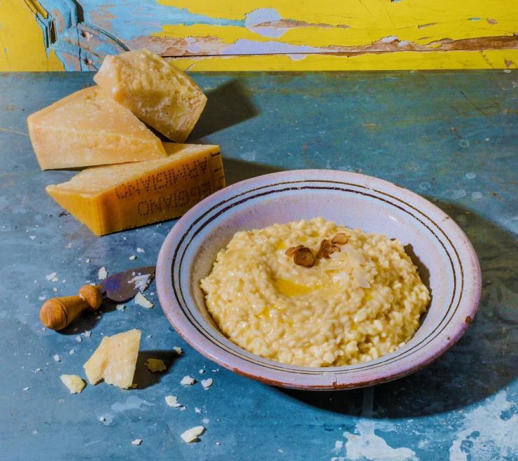 Risotto alla parmigiana, by Marcella Hazan