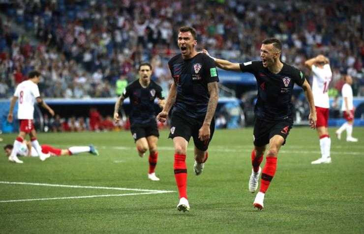 And this time it's Croatia's turn to celebrate.