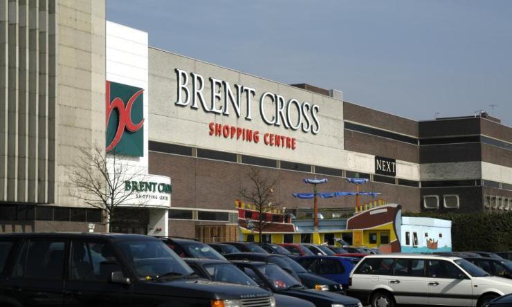 Brent Cross Shopping Centre, London.