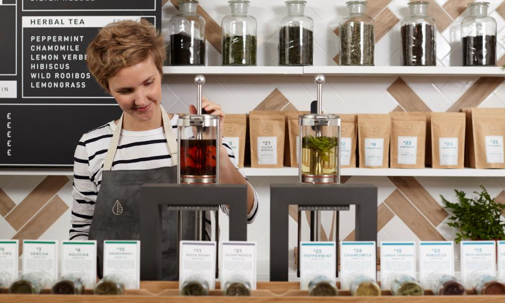 Emilie Holmes, founder of Good and Proper Tea