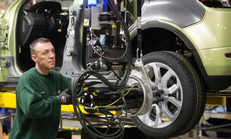 Jaguar's assembly plant in Halewood.