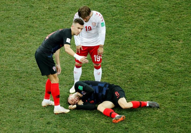 Kovacic in pain.