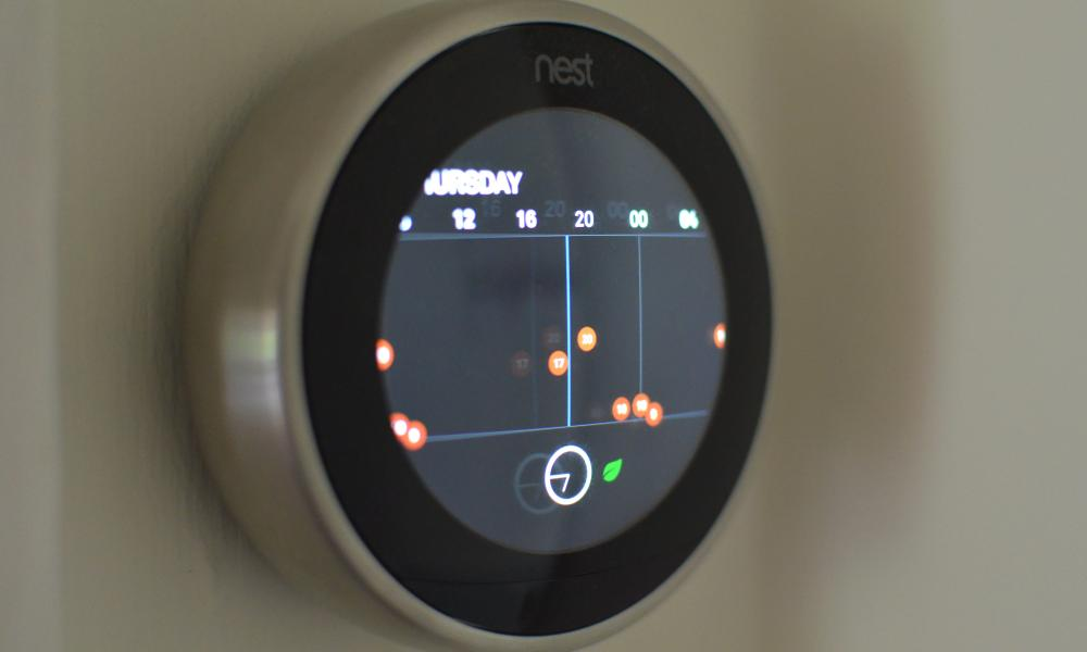 Nest learning thermostat review - scheduler