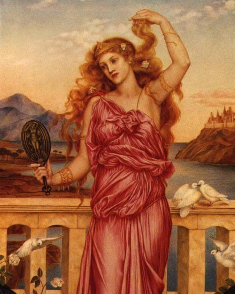 Helen of Troy, the original woman-as-commodity.