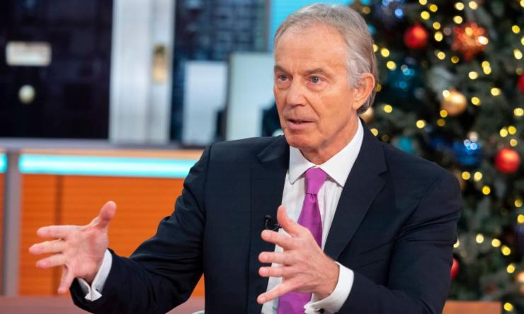 Tony Blair on Good Morning Britain earlier this month.