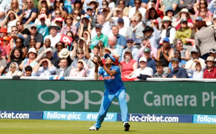 Goswami catches Beaumont.