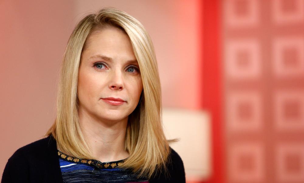Yahoo! CEO Marissa Mayer,