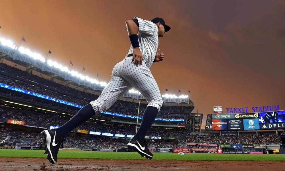 Alex Rodriguez of the New York Yankees at Yankee Stadium