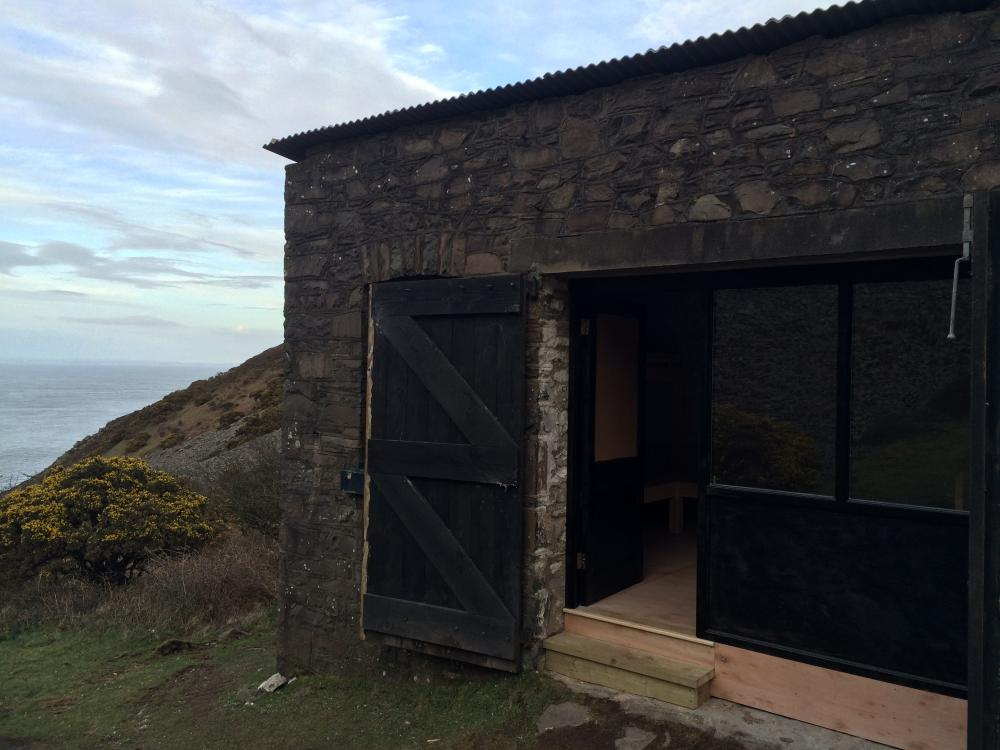 Foreland Bothy, north Devon
