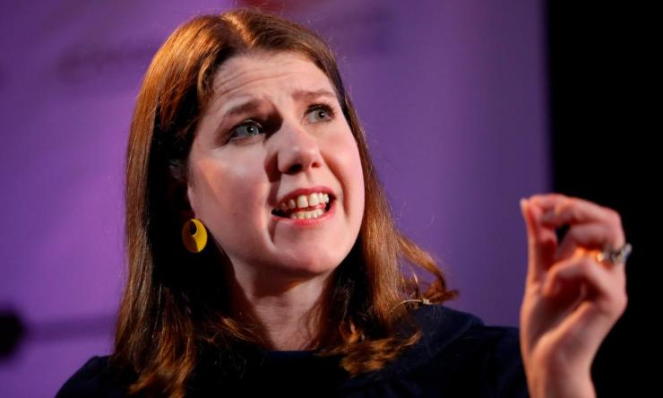 Jo Swinson, the leader of the Lib Dems