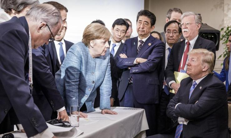 Heads Of State Attend G7 Meeting