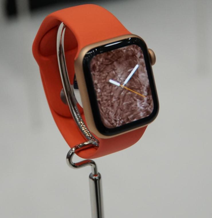 An Apple Watch.