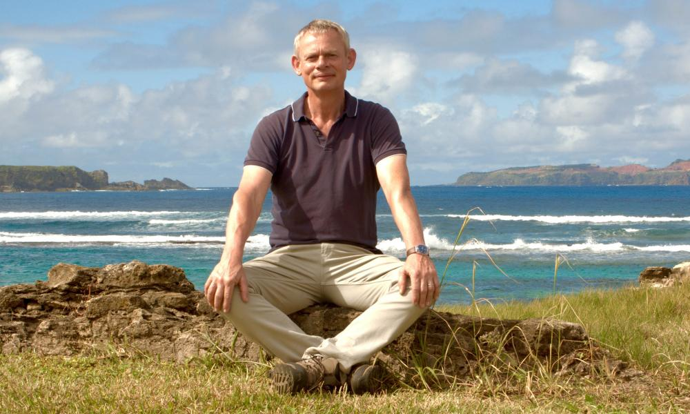 Martin Clunes on Lord Howe island